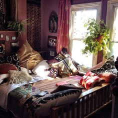 My lovely cool summery bedroom....I love it so much | Flickr - Photo Sharing!