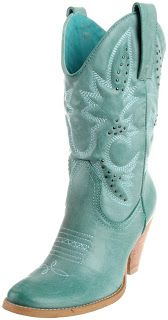 Aqua blue Cowgirl boots for women 2013 OMG wow I want these soo bad for our trip! Adorable!!