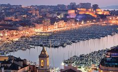 Marseille, the 2013 Capitol of Culture. A gorgeous Mediterranean city offering lovely waters, historical sights & boats. Lotsa boats. :)