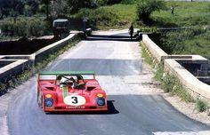Arturo Merzario, Ferrari 312PB, 1973 Targa Florio