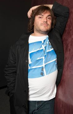 Jack Black Jacob Black, Santa Monica, Tenacious D, Celebrities Exposed, Tim Robbins, Rain Jacket, Bomber Jacket, Plus Size Men, Unique Photo
