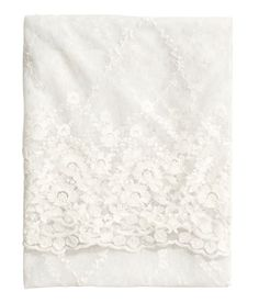 Lace Tablecloth from H&M... So pretty!