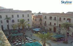 Live Webcam Piazza Duomo e Palazzo del Comune di Cefalù