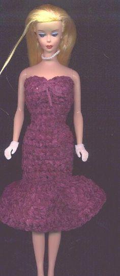 strapless dress free crochet pattern