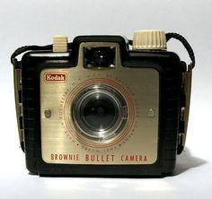 Vintage Kodak Brownie Bullet 127 film camera by CanemahStudios, $25.00