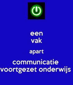 een vak apart communicatie  voortgezet onderwijs