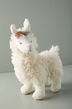 2 Cuddly Soft Alpaca Llama Cushions-Great Price Mothers Day Gift Idea Easter