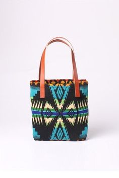 Native | Turquoise Tote