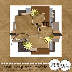 Challenge Thursday {Template} - Trixie Scraps Designs