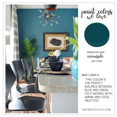 Paint Color Picks Sherwin Williams Oceanside
