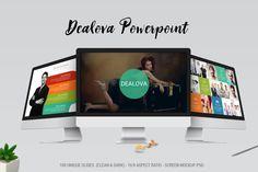 Template de PowerPoint Criativo - Dealova - IA Produtos