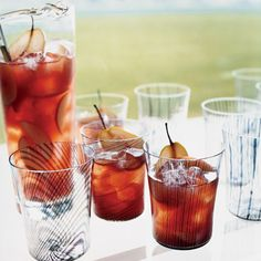 Zen Sangria  Give sangria some Asian-style flair by combining Sauvignon Blanc with green-tea-flavored vodka. Not a fan of green tea flavor? This drink can be made with plain or citrus vodka as well.