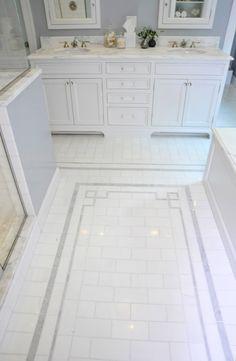 Tile detail   muse ▇  #Home   #Bath #Decor  & #Design   ➨  http://www.IrvineHomeBlog.com/HomeDecor/  ༺༺  ℭƘ ༻༻    Christina Khandan - Irvine California