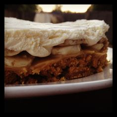 Banoffe Pie @ Sirope de Fresa