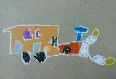 Escola Pau Casals. Taller dibuixos cotxes