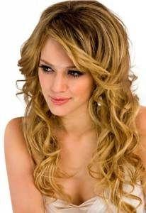 peinados elegantes con el cabello suelto