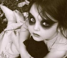 ghost children makeup - Google Search