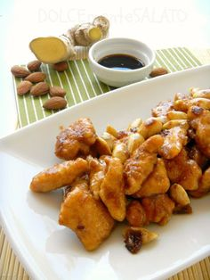 Ricetta Pollo alle Mandorle ingredienti per 4 persone preparazione cucina cinese piatto Cina ricetta originale