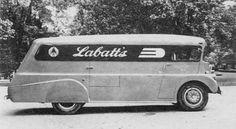 Labatt's  beer truck canada vintage