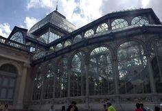 Retiro Park - Palacio de Cristal - Madrid