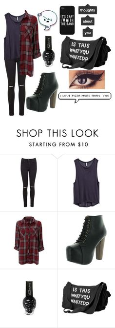"""""""Untitled #651"""" by xxghostlygracexx ❤ liked on Polyvore featuring Miss Selfridge, H&M and Speed Limit 98"""