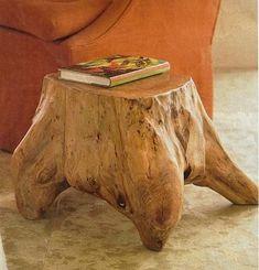 Wonderful Tree Stump Furniture Ideas_61