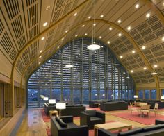 Kroon Hall Yale University / Centerbrook Architects and Planners and Hopkins Architects