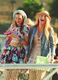 Blair Waldorf & Serena Vanderwoodsen where we get our fashion inspiration from.