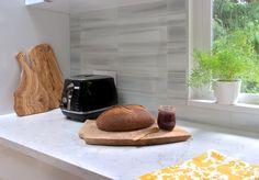 Custom Glass tile backsplash