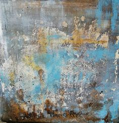 Disintegration - mixed media painting by PetraLeaArt on Etsy Mixed Media Painting, Mixed Media Canvas, Online Gallery, Petra, Ink, Abstract, Artwork, Decay, Canvas Art