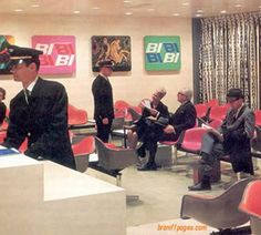The Braniff Lounge, 1960's