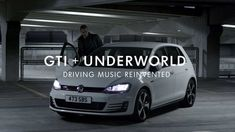 Music synced to the way you drive - VW GTI + Underworld - Play the Road