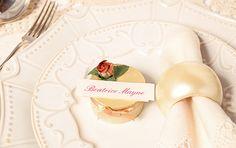 Marcasitios como detalle de boda. Cajita para los invitados.
