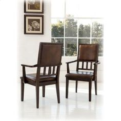 Ashley - Dining Room Arm Chair (2/Cn) - D69401A - Kenwood Loft Furniture Collection -  Price: $149 - http://www.keyhomefurnishings.com