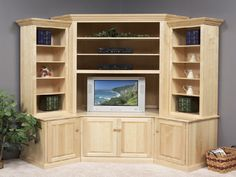 Built In Corner Tv Cabinet   Google Search
