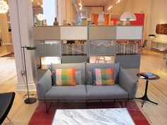 Neutral Storage Units Herman Miller Pop-Up Store and Collection Launch! Modern Furniture, Furniture Design, Expandable Table, Human Centered Design, Storage Units, Pop Up Shops, Wireframe, Mid Century Modern Design, Modern Graphic Design