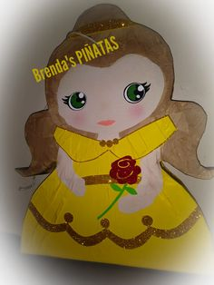 Pinata Beauty and the Beast Belle pinata