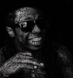 [ART] Hip Hop Typography Portraits : Paladin Brand  - Hip Hop ya Don't stop