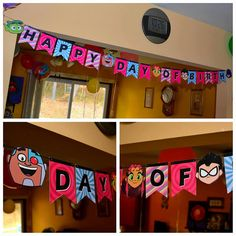 Teen Titans Go Birthday Banner by CarbenDesignStudio on Etsy