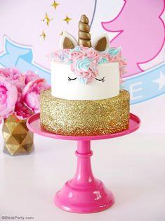 Eenhoorn verjaardagstaart Recept - Gâteaux et desserts - Easy Unicorn Cake, Unicorn Cake Pops, Unicorn Cakes, How To Make A Unicorn Cake, Unicorn Birthday Parties, Unicorn Party, Diy Unicorn Birthday Cake, Birthday Ideas, Cupcake Birthday