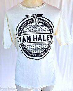 rare Van Halen 2012 USA Concert Tour VIP Ltd Edtn t-shirt by Trunk, size XXL / XL