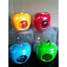 PARFUM MOBIL APPLE harga : 60.000 *belum termasuk ongkir jne  Parfum Mobil Appleini berbentuk apel yang unik