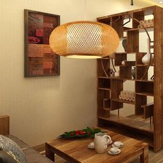 High Quality Bamboo Lamp Shade Pendant Rattan Pendant | Etsy Bamboo Pendant Light, Bamboo Light, Bamboo Lamp, Rustic Pendant Lighting, Pendant Lights, Rattan Lamp, Basket Lighting, Ceiling Pendant, Wicker Baskets