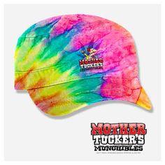 Hip Hippy Hooray! Tie Dyed Painter's Cap