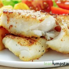 Clean Eating Cod Fish with Cod Fish Fillets Salt Pepper Plain Flour Oil. Clean Eating Cod Fish with Cod Fish Fillets Salt Pepper Plain Flour Oil. Fried Cod Recipes, Cod Fish Recipes, Seafood Recipes, Cooking Recipes, Healthy Recipes, Cod Fillet Recipes, Fresh Fish Recipes, Easy Cod Recipes, Easy Baked Fish Recipes