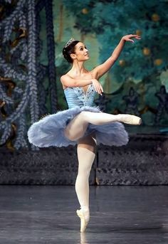 A powder-blue tutu for Sugar Plum