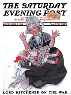 Sat Eve Post Cover  Dec 5 1914