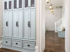 love these lockers. love the chicken wire on top, doors, drawers. perfect. @elizabethcressy