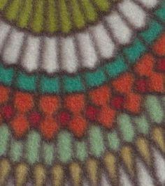 Anti-Pill Fleece Fabric Badabing Woodland