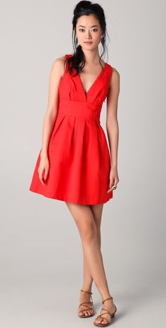 "Girls, you would terrific in this ""poppy"" dress.  What do you say? <3 it!"